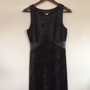 All That Jazz vintage velvet dress with cutouts